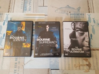 DVD The Bourne Identity 1-3
