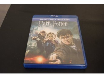 Bluray+DVD-film: Harry Potter och Dödsrelikerna del 2