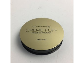 Max Factor, Puder, Creme Puff Pressed Powder, 42 Deep Beige, Brun