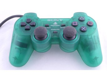 Playstation 1 Controller Dualshock (Clear Green) -  - PAL (EU)