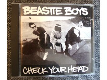 CD SKIVA BEASTIE BOYS - CHECK YOUR HEAD I NYSKICK
