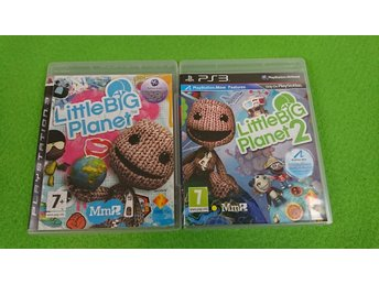 Little Big Planet 1 & 2 Ps3 Playstation 3