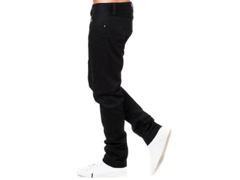 Helt  Ny Nudie jeans Steady Eddie dry black W30-L34