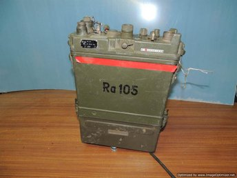 Ra105 UK-station med 12 V-tillsats