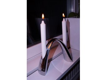 Stelton ljusstake Twilight (dansk design ljus julklapp advent jul