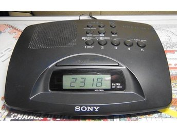 "SONY Klock-Radio "" Dream Machine"" ICF-C233 i fint skick !"