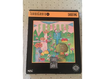 Turbo Grafx 16 Fantasy Zone