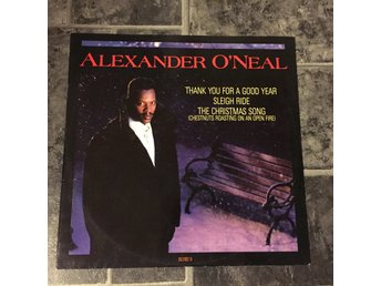 "ALEXANDER O´NEAL - THANK YOU FOR A GOOD YEAR. (12"")"