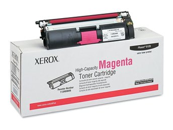 Magenta Toner, Xerox Phaser 6120 / 6115 Original Högkapacitet (113R00695)