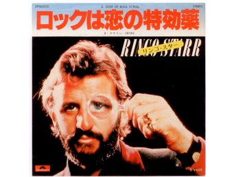 "RINGO STARR - A Doser Of Rock'N'Roll 7"" Singel Japan Beatles"