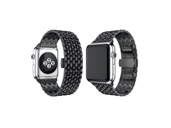 Länk Apple-Watch SVART 42mm