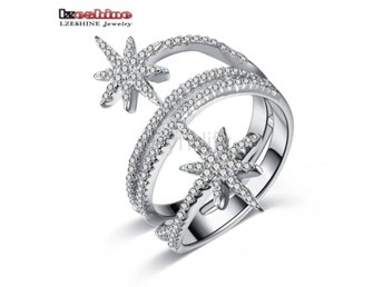 Ring s With AAA CZ Wedding Party Jewelry Accessories size 6