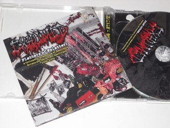 EXHUMED - PLATTERS OF SPLATTER (2-CD) RELAPSE MORTICIAN GORE GRIND