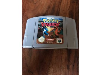 Nintendo 64 N64 Pokemon Stadium PAL Game
