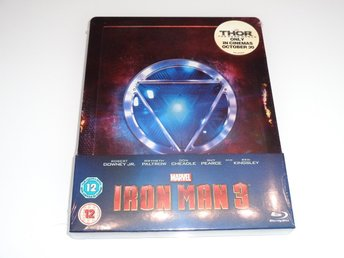 Marvel: Iron Man 3 - Blu-ray Steelbook (Zavvi Exclusive)