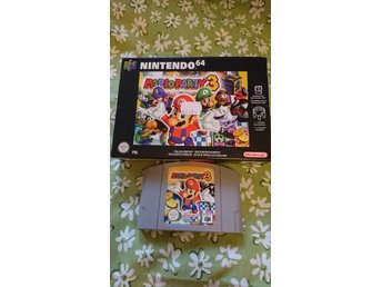 NINTENDO 64 SPEL MARIO PARTY 3