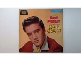 ELVIS PRESLEY - KING CREOLE -  GERMANY - RARE