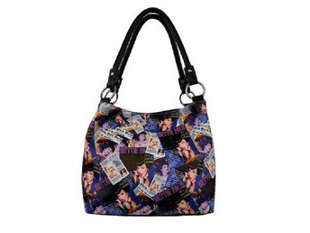 Bettie Page Purse Collage Handväska.