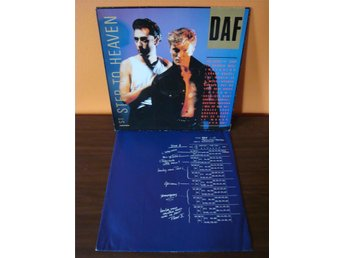 DAF: 1st Step To Heaven. Synth-pop 1986 LP
