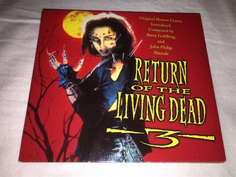 Return of the Living Dead 3 (1993, Barry Goldberg, Southeast Records CD)
