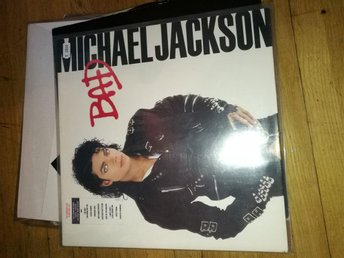 Mj LP mint edt. BAD. Michael Jackson