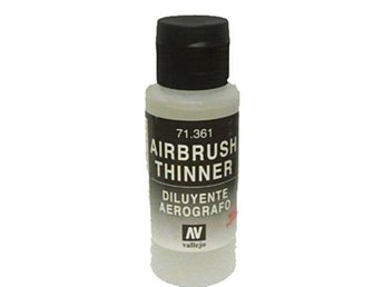 Vallejo 71361 thinner 60 ml. - airbrush