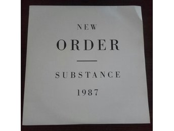 NEW ORDER  SUBSTANCE 1987