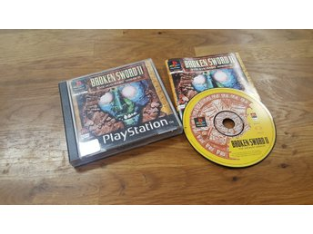 BROKEN SWORD II KOMPLETT PS1