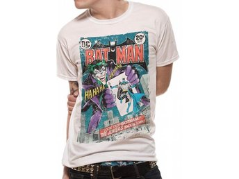 BATMAN - JOKER COMIC (UNISEX) - Extra-Large
