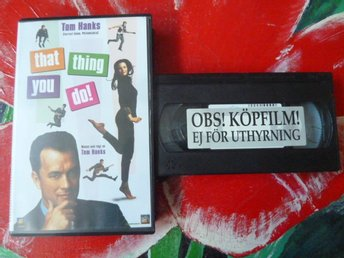 THAT THING YOU DO!, KOMEDI, VHS, FILM