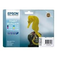 Bläckpatron Epson C13T04874010 6-färger, Multi Pack R300 Incl. B/C/M/Y/LC/LM