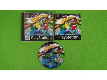 M&Ms Shell Shocked KOMPLETT Playstation ps1