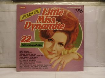 BRENDA LEE - LITTLE MISS DYNAMITE - INPLASTAD
