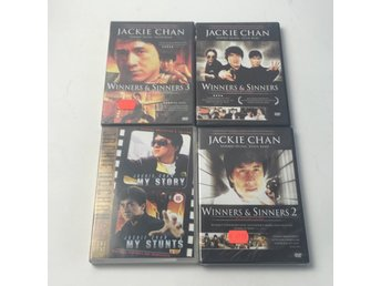 DVD-Filmer, 4 st, Jackie Chan