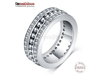 Ring Women Men Original Jewelry bijoux PSRI0122-B size 7