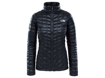 Ny! The North Face Women's Thermoball Full Zip Jacket Black (M)