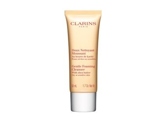 clarins gentle foaming cleanser with shea butter 50ml