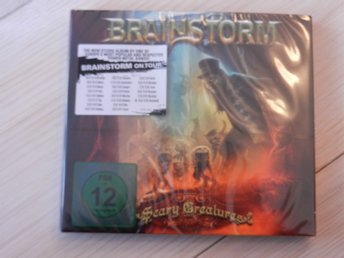 BRAINSTORM - Scary Creatures (cd + Live dvd digipak) still sealed