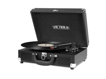 Victrola Case Turntable Black