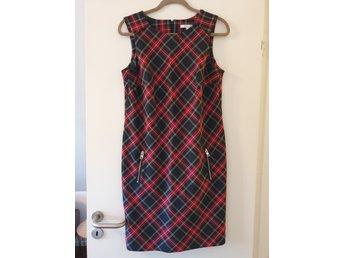 Esprit vintersnygg klänning skotskrutig OANVÄND! (417665488