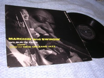Wilbur De Paris - Marchin' and Swingin' (LP) US 1956 VG/EX