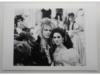 DAVID BOWIE + JENNIFER CONNELLY - 'Labyrinth', 1986 - Bielecki - *A4*-print NME!