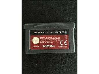 Game Boy advance Spiderman spindelmannen