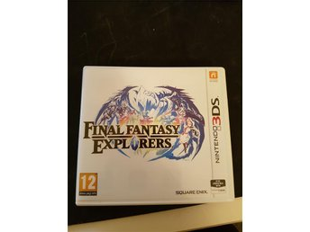 Final Fantasy Explorers nintendo 3Ds/2Ds