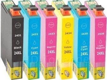 6-pack T2431 - T2436 XP-750 XP-850 XP-950 nonOEM Epson - Uppsala - 6-pack T2431 - T2436 XP-750 XP-850 XP-950 nonOEM Epson - Uppsala