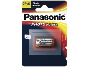 1x100 Panasonic Photo CR-123 A Lithium         VPE Masterkarton