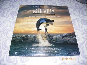 Free Willy -Widescreen edition - 1 LD - Forshaga - Free Willy -Widescreen edition - 1 LD - Forshaga