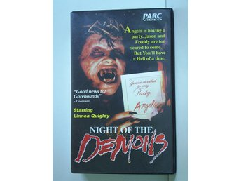 NIGHT OF THE DEMONS. (Cathy Podewell, Alvin Alexis, Hal Havins) - Skärblacka - NIGHT OF THE DEMONS. (Cathy Podewell, Alvin Alexis, Hal Havins) - Skärblacka