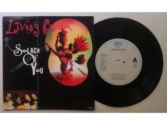 "LIVING COLOUR 'Solace Of You' 1990 Dutch 7"" - Bröndby - LIVING COLOUR 'Solace Of You' 1990 Dutch 7"" - Bröndby"