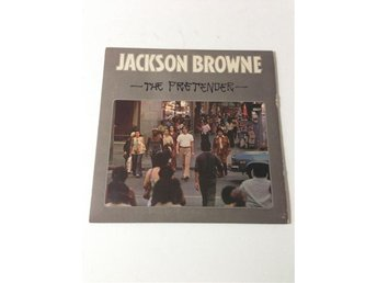 "LP Jackson Browne ""The Pretender"". Finfint skick!"